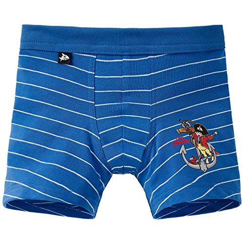 Schiesser Jungen Shorts Boxershorts, Blau (blau 800), 92