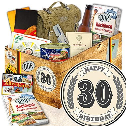 30. Geburtstag / DDR Geschenkbox / NVA Paket / 30. Geburtstag Geschenke