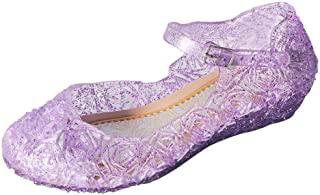 04b6c7a453e0a0 ON Princess Girls Queen Dress Up Cosplay Jelly Shoes for Kids Toddler Dance  Party Sandals Mary