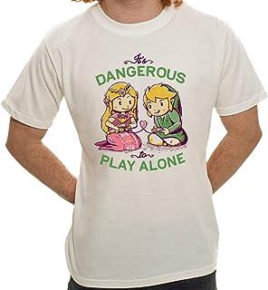 Camiseta Its Dangerous To Play Alone - Masculina