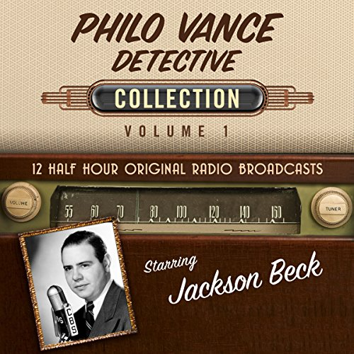 Philo Vance, Detective, Collection 1 audiobook cover art