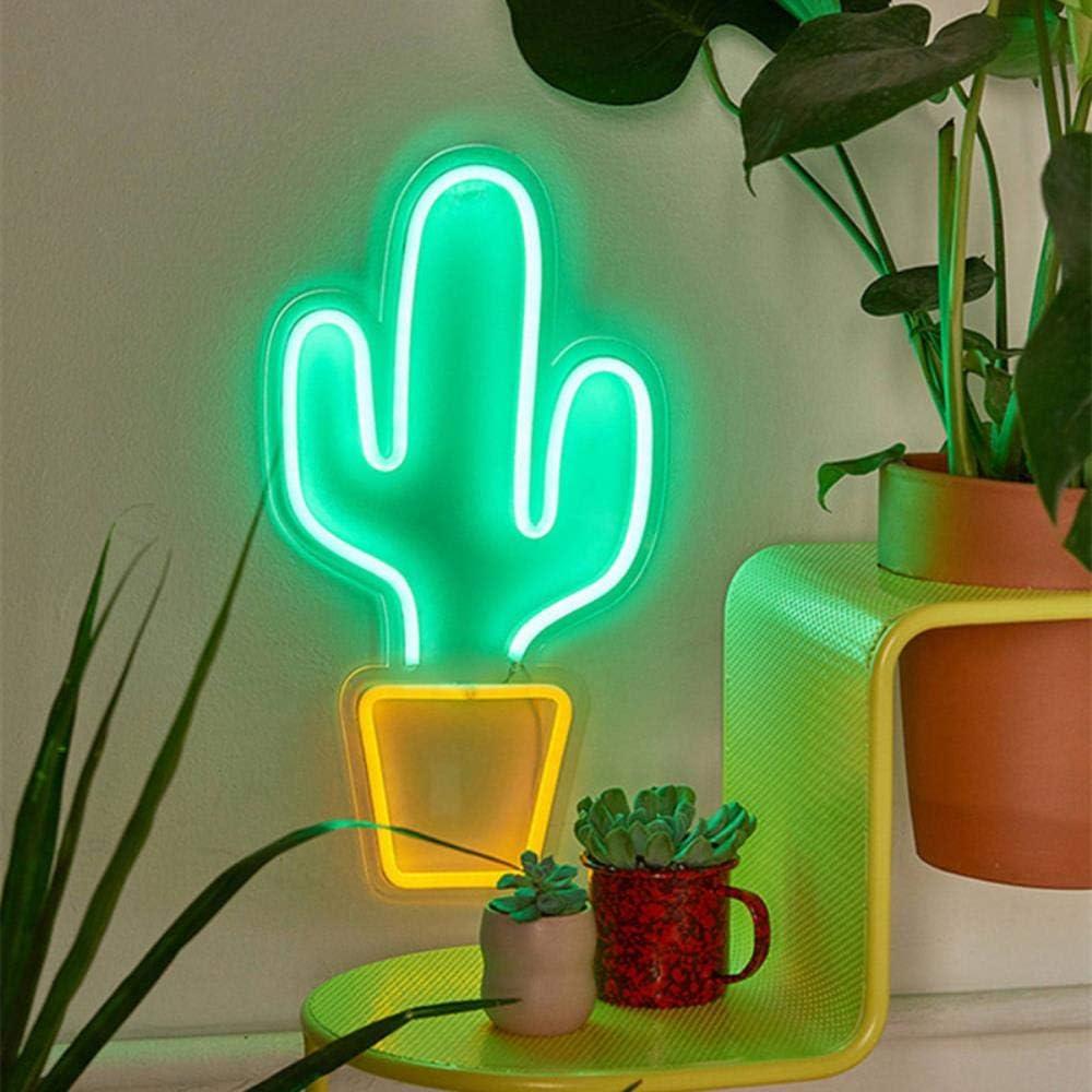 LED Neon mehrfarbigen Regenbogen Wandschild Cool Light Wandkunst Schlafzimmer Dekorationen Wohnaccessoires Party und Urlaub USB Wire, USB-Eis Usb Cactus