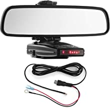 $41 » Radar Mount Mirror Mount Bracket + Direct Wire Power Cord for Escort 9500ix X50 8500 (3001201)