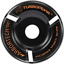 ARBORTECH Turbo Plane | Ø 100 mm Tungsten Carbide Wood Carving Disc for Angle Grinder | IND.FG.400