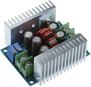 Anmbest Constant Current CC CV Buck Converter Module DC 6-40V to 1.2-36V 20A 300W Adjustable Step Down Voltage Regulator Power Supply Module with Short Circuit Protection Function