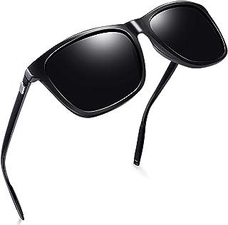 Joopin Polarized Mens Womens Sunglasses, Stylish Square Sun Glasses Vintage Lightweight UV400 Protection