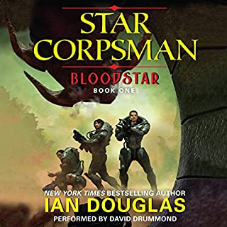Bloodstar audiobook cover art