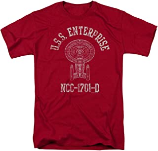 Star Trek: The Next Generation U.S.S Enterprise-D Athletic T Shirt & Stickers