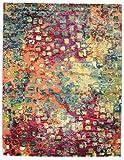 RugVista Teppich Davina, Kurzflor, 200 x 250 cm, Rechteckig, Modern, Öko-Tex Standard 100, Polypropylen, Schlafzimmer, Wohnzimmer, Bunt