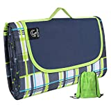 REDCAMP XL Picnic Blanket Waterproof Sandproof, Durable Oxford Folding Extra Large Picnic Mat for...