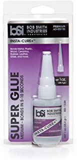 Bob Smith Industries BSI-133H Insta-Cure+ Gap Filling Super Glue, 1 oz.