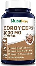 Sponsored Ad - Cordyceps Extract 1000 mg 200 Veggie Capsules (Non-GMO & Gluten Free) Cordyceps Sinensis - Healthy Immune S...