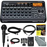 Tascam DP-008EX 8-Track Digital Pocketstudio and Deluxe Bundle with Home Recording...