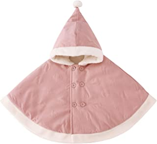 Baby Girls Boys Hooded Cape Cloak Carseat Poncho Coat Toddler Snowsuit Winter Outfit 0-3 Years