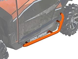 SuperATV Heavy Duty Nerf Bars/Rock Sliders/Tree Kickers for Polaris General 1000 (2016+) - Orange