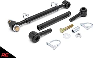 Rough Country 1186 Front Sway Bar Quick Disconnects compatible w/ 1987-1995 Jeep Wrangler YJ/76-86 CJ5 CJ7 CJ8 4-6