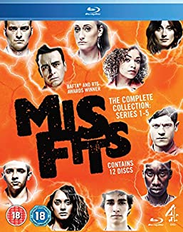Misfits - The Complete Collection: Series 1-5