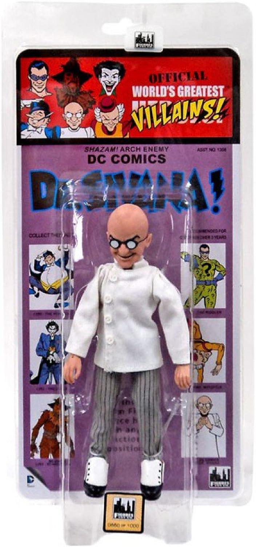 Ahorre 35% - 70% de descuento DC World's Greatest Heroes  Kresge Retro Style Series Series Series 2 Dr. Sivana  8 Acción Figura by Figuras Juguete Company  diseño único