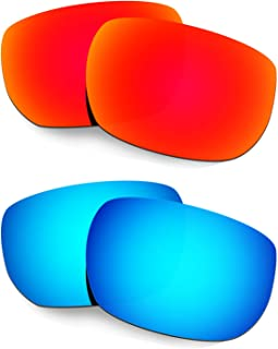 Hkuco Plus Mens Replacement Lenses For Oakley Style Switch - 2 pair