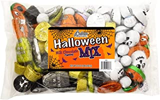 R.M. Palmer Halloween Candy Mix - (Approx. 120 Pieces) Bulk Bag of Tombstones, Plumpkins, Googly Eyes, Skulls and Peanut Butter Cups Halloween Themed Treats, Candy, and Snacks (2 LB)