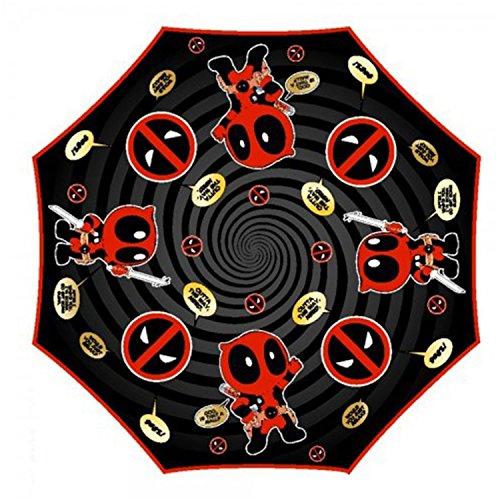 Marvel Deadpool folding umbrella. 53cm