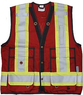 Viking Unisex Adult Red Surveyor Vest Open Road