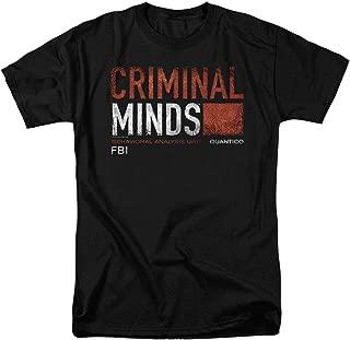 Criminal Minds FBI CBS T Shirt & Stickers