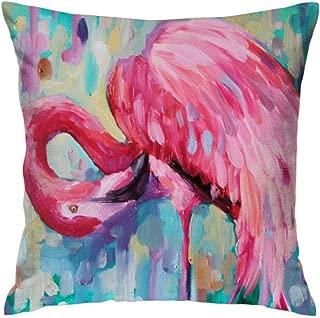 FEDDIY Throw Pillow Cover Cushion Case Home Flamingo Decorative for Boy Girl Woman 20