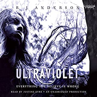 Ultraviolet                   By:                                                                                                                                 R. J. Anderson                               Narrated by:                                                                                                                                 Justine Eyre                      Length: 8 hrs and 38 mins     30 ratings     Overall 4.1