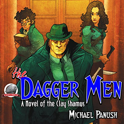 The Dagger Men audiobook cover art
