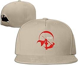 hmkolo RWBY Red Trailer algodón Flat Bill gorra de béisbol gorra gorro Unisex