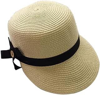 Duck Tongue Cap Straw Sun Visor Sun Hat Ladies Fashion Girls Summer Hat(Beige)