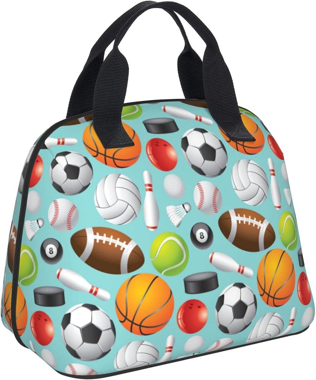 Sport Balls Reusable Insulated Ranking TOP19 Cooler - Detroit Mall Bag Lunch Portable