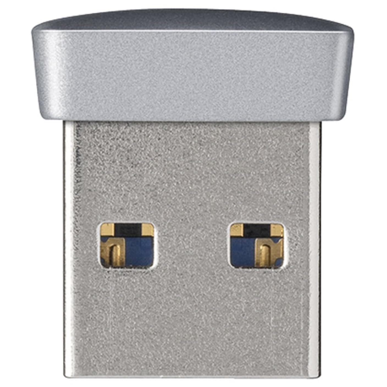 協会干し草まもなくBUFFALO USB3.0対応 マイクロUSBメモリー 32GB シルバー RUF3-PS32G-SV