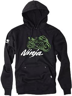 Factory Effex (18-88134) Ninja Pullover (Black, Large)