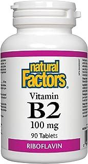 Natural Factors B2 Riboflavin 100 Mg, 90 Tablets