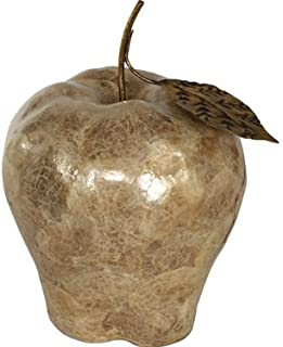 Timeless Reflections by AFD Home 10770851 AFD Home Caprice Shell Golden Apple Decorative Accent