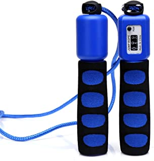 Anser Rope Skipping 390 Adjustable Jump Rope with Counter and Comfortable Handles