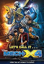 MECH-X4 Junior Novel