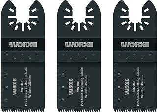 Sponsored Ad – Worx WA5016.3 35mm Sonicrafter Oscillating Multitool Universal Wood Cutting Blade (3 Pieces)