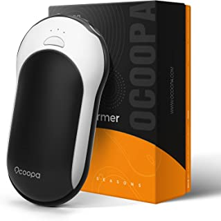 OCOOPA Chauffe-Mains Rechargeable, 10000mAh Chaufferette Main USB Électrique Portable,Banque de Puissance,15 Heures Longue...