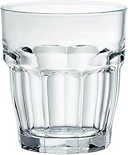 Bormioli Rocco Rock Bar Stackable Shot Glasses – Set Of 6 Dishwasher Safe Drinking Glasses For Liquors & Spirits – 2.25oz Durable Tempered Glass