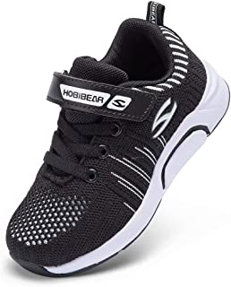 LINGMAO Boys Girls Tennis Running Shoes - Lightweight Breathable Athletic Sneaker