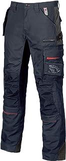 U-Power SY001DB-58 SY001DB-58-Pantalones Gama U-Supremacy Modelo Race Deep Blue Talla 58, Negro, Hombre