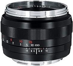 Zeiss Classic Planar ZE T 1.4/50 Standard Camera Lens for Canon EF-Mount SLR/DSLR Cameras, Black (1677817)