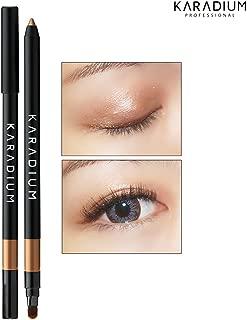 [KARADIUM] Wonderful Eyes Auto Gel Eyeliner 0.5g / Gel Liner & Sharpner & Blending Brush/Waterproof Long-Lasting - 8 Colors (#5 golden bronze)