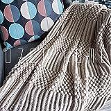 Manta de Microfibra Color sólido, Extra Suave Mantas para Sofás, Multifuncional para sofá, Cama, Viajes, Adultos, niños -Milán Camello_130cm * 240 cm