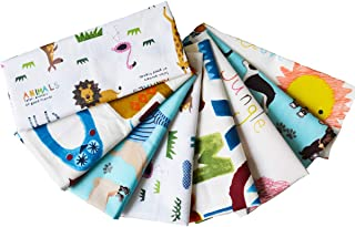 UOMNY Quilting Fabric 8pcs14 x 19