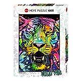 Heye 29766–Wild Tiger estándar, Dean Russo, Puzzle de 1000piezas