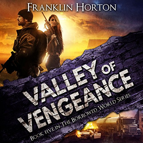 Valley of Vengeance audiobook cover art